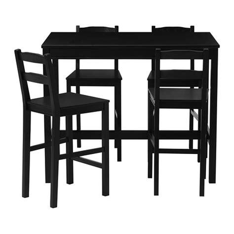 jokkmokk bar table and 4 bar stools ikea