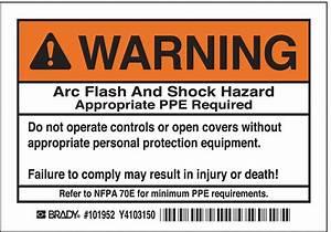 brady arc flash protection labelpk5 2xy16 101952 grainger With arc flash labels nfpa 70e