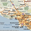 Pacific Palisades (Los Angeles nbhd), California Area Map ...