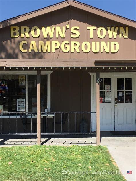 browns town campground bishop california