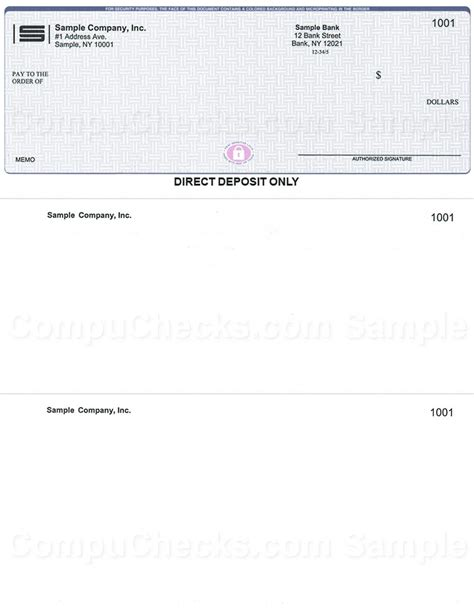 direct deposit checks  quickbooks users compuchecks