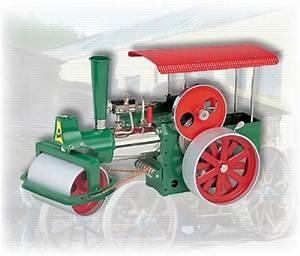 Wilesco Steam Roller Old Smokey D365