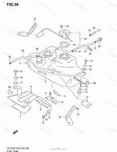 Suzuki Motorcycle 2000 Oem Parts Diagram For Fuel Tank