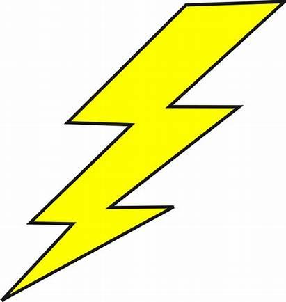 Lightning Bolt Clip Mcqueen Superhero Clipart Lightening