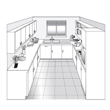 plant de cuisine cuisine en u plan solutions pour la décoration intérieure de votre maison