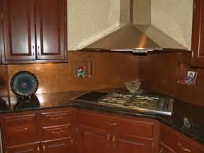 Copper Backsplash For Kitchen Soothing Distressed Copper Backsplash Sheet Copper