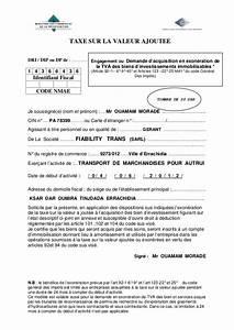 Attestation Tva 10 : demande d exoneration de la t v a simotic ~ Melissatoandfro.com Idées de Décoration