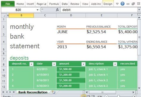 image result  monthly financial report excel template