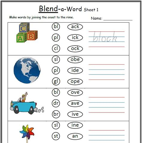 all worksheets 187 blends and digraphs worksheets