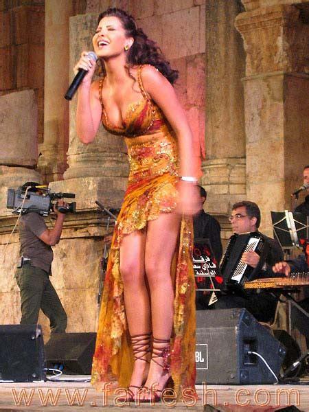 Remember When Nancy Ajram Caused Uproar In Jordan ~ Hot
