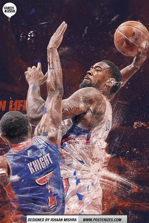 deandre jordan posterizes brandon knight wallpaper