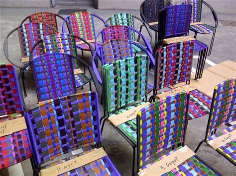 chaise en fil plastique fauteuils togo benoit guyot extramuros