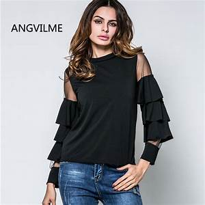 ANGVILME 2017 Designer Shirts for Women Top Brand Latest ...