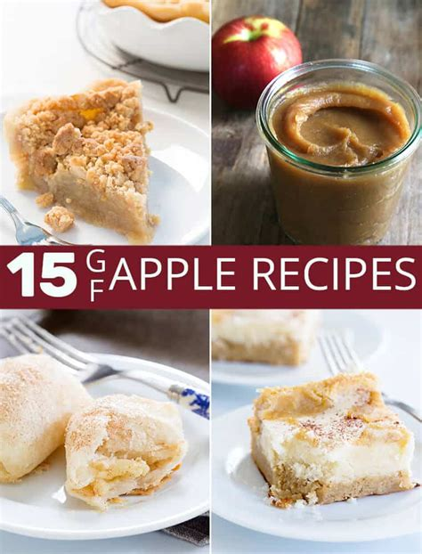 amazing gluten  apple recipes great gluten