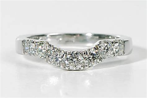 handmade shaped wedding rings to fit engagement ring unforgettable jewellery