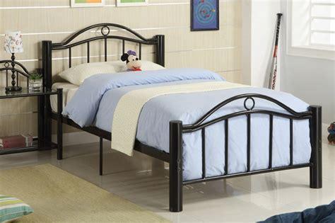 Black Metal Bedside Tables Furniture Black Metal Bed With