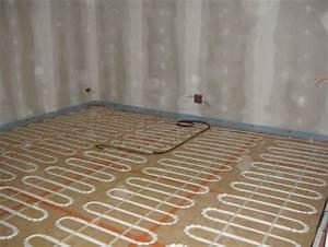 Plancher Rayonnant Electrique : le plancher chauffant lectrique ~ Premium-room.com Idées de Décoration