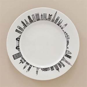 Assiette New York Assiettes Compagnie