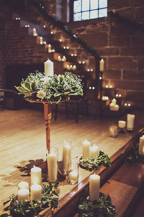 wow factor winter wedding ceremony ideas