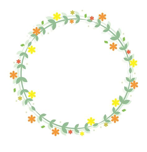 gambar bunga vector desain inspirasi bingkai bunga