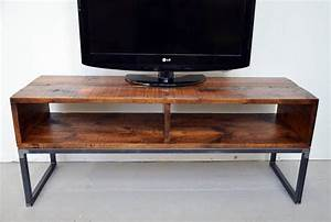 reclaimed barn board tv stand media from sonder mill With barn board tv stand