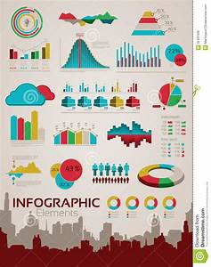 Infographics Elements And Statistics Stock Vector