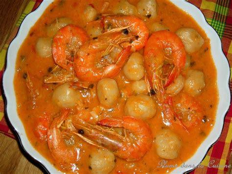 cuisine guyanaise recette dombré aux crevettes recette de dombré aux crevettes