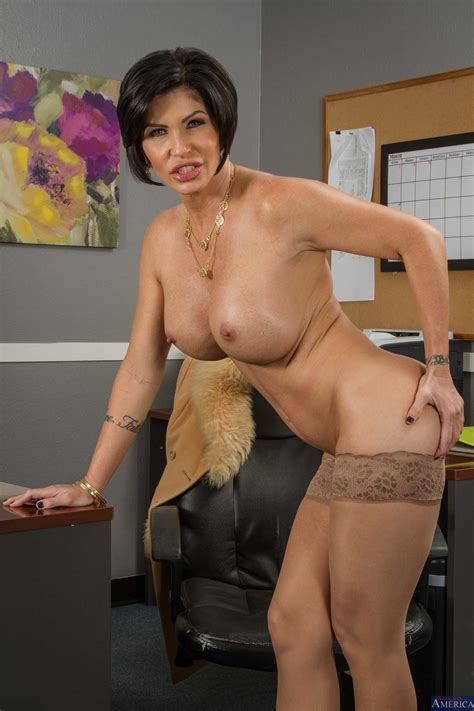 milf with big tits is a good secretary milf fox