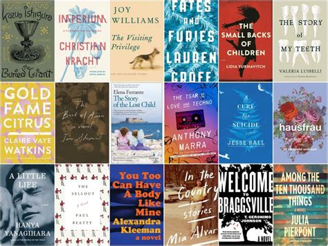 best selling fiction book the 18 best fiction books of 2015 huffpost
