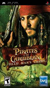Pirates Of The Caribbean Dead Man39s Chest PSP Game