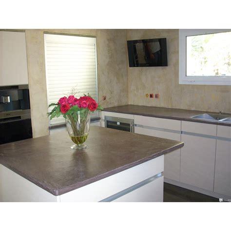 beton ciré pour cuisine béton ciré cuisine et plan de travail beton
