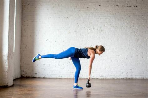 kettlebell workout pyramid deadlift leg single row amrap minute side killer