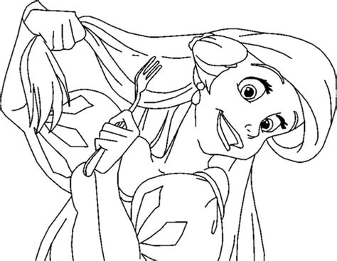 ariel brushing  hair  mermaid coloring pages