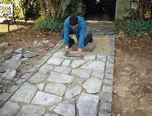 Faire Une Allée Carrossable : installer une all e en pierres naturelles ~ Premium-room.com Idées de Décoration
