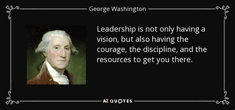 george washington quote leadership