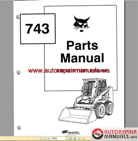 Bobcat 741 Wiring Diagram by 743 Bobcat Hydraulic Diagram Engine Wiring Diagram Images