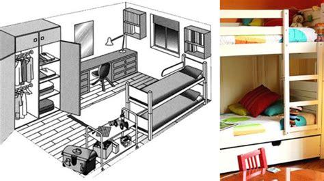 amenagement chambre pour 2 ado chambre adulte enfant idées et conseils d