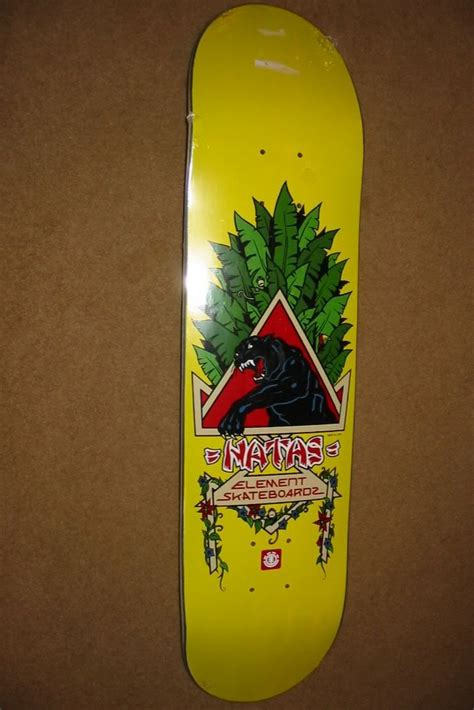 Natas Kaupas Deck Reissue by Element Natas Kaupus Panther Reissue Photo By Akbk6100