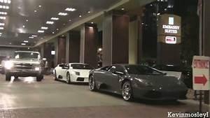 2x Lamborghini Murcielago - Allen Iverson's LP640, 6.2 ...