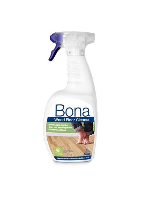 Bona Wood Floor Cleaner Spray  Ml Departments Diy