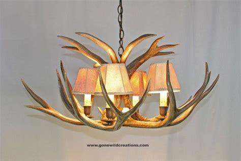 handmade mule deer antler chandelier quot quot by new