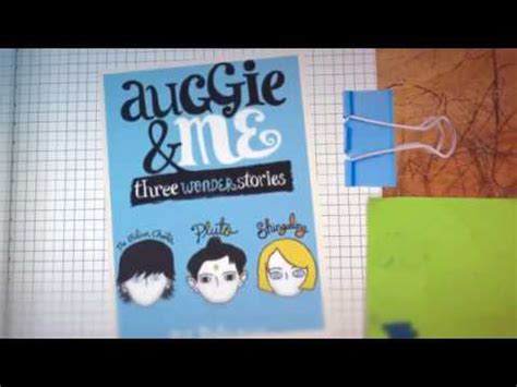 auggie   book trailer youtube