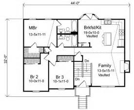 bi level house floor plans oaklawn split level home plan 058d 0069 house plans and more