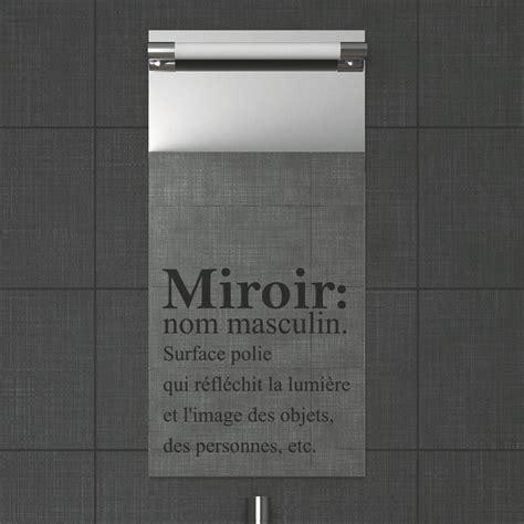 stickers muraux pour salle de bain sticker mural miroir ambiance stickercom