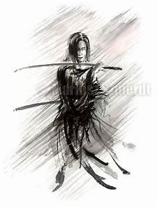 Ronin Samurai Drawings | www.pixshark.com - Images ...