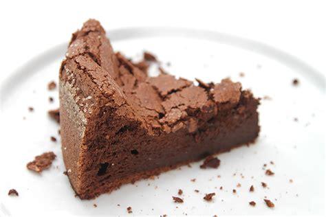 flourless chocolate bourbon cake recipe food style