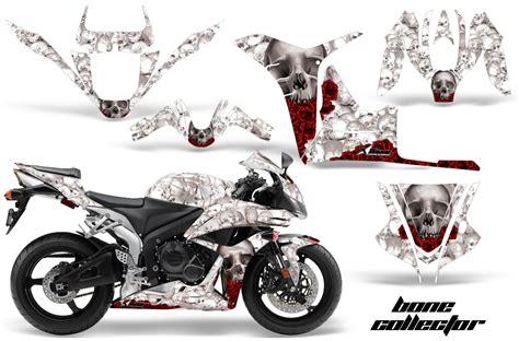 kit deco cbr 600 rr honda cbr 600rr 07 08 graphics bone collector