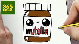 Modèle De Dessin Facile : comment dessiner nutella kawaii tape par tape dessins ~ Melissatoandfro.com Idées de Décoration