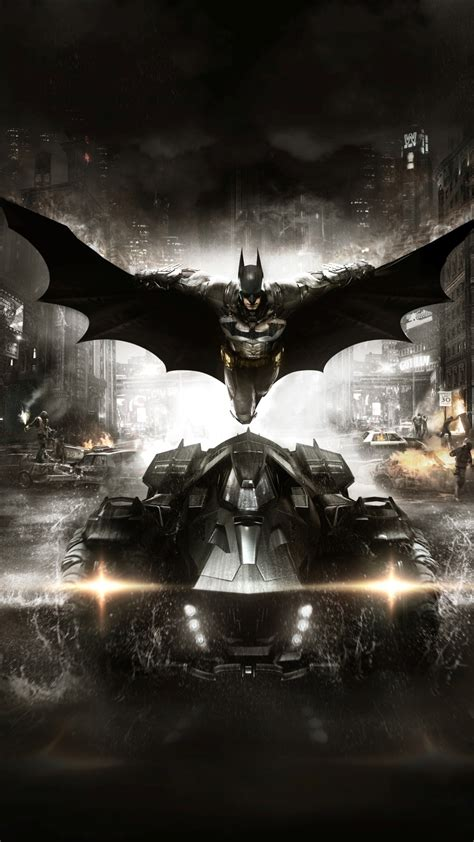 Batman Arkham Knight 2015 Game Wallpapers 1080x1920