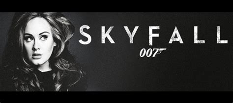 Adele Records The Theme For New James Bond Film 'skyfall